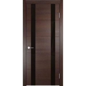 Межкомнатная дверь Турин 06 (дуб графит вералинга)