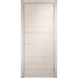 Межкомнатная дверь Турин 01 (дуб бежевый вералинга)