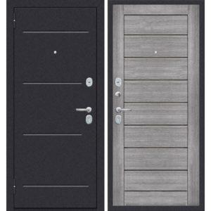 Входная дверь ДиМ Универсал ЭП-22 (лунный камень, грей вералинга)