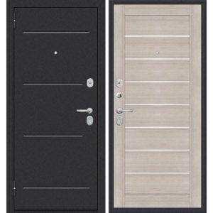 Входная дверь ДиМ Универсал ЭП-22 (лунный камень, капучино вералинга)