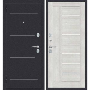 Входная дверь ДиМ Универсал ЭП-29 (лунный камень, бьянко вералинга)