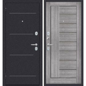 Входная дверь ДиМ Универсал ЭП-29 (лунный камень, грей вералинга)