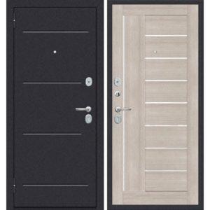 Входная дверь ДиМ Универсал ЭП-29 (лунный камень, капучино вералинга)