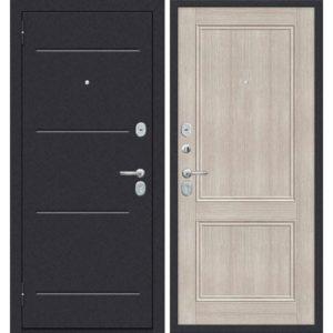 Входная дверь ДиМ Универсал ЭП-62 (лунный камень, капучино вералинга)
