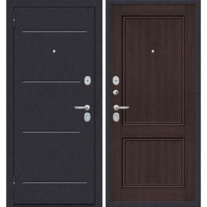 Входная дверь ДиМ Универсал ЭП-62 (лунный камень, венге вералинга)
