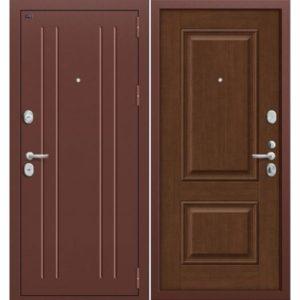 Входная дверь Groff Т2-232 (Brown Oak)