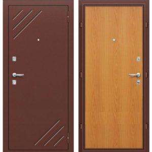 Входная дверь Оптим Стандарт (миланский орех)
