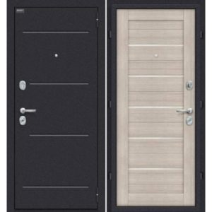 Входная дверь Оптим Техно (капучино вералинга)