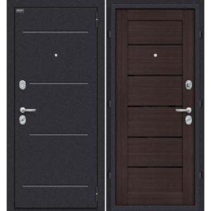 Входная дверь Оптим Техно (венге вералинга)