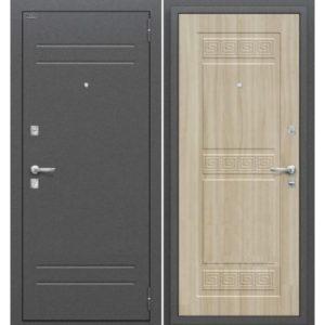 Входная дверь Оптим Трио (шимо светлый)