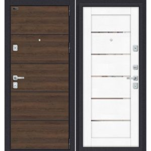 Входная дверь Porta M П50.Л22 (tobacco greatwood, white softwood)