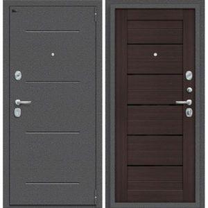 Входная дверь Porta S 104.П22 (антик серебро, венге вералинга)