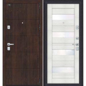 Входная дверь Porta M 4.П23 (almon 28, бьянко вералинга)