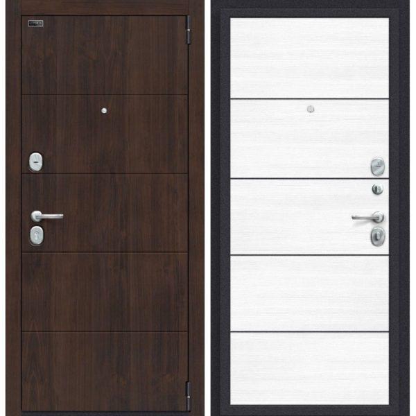 Входная дверь Porta S 4.П50 (almon 28, snow veralinga)