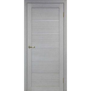 Межкомнатная дверь Optima Porte Турин 501.1 (АПП молдинг SC, дуб серый, глухая)