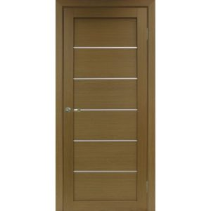 Межкомнатная дверь Optima Porte Турин 501.1 (АПП молдинг SC, орех, глухая)