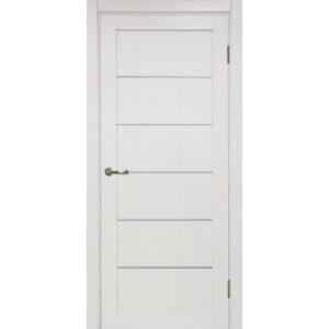 Межкомнатная дверь Optima Porte Турин 501.1 (АПП молдинг SC, ясень перламутровый, глухая)