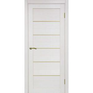 Межкомнатная дверь Optima Porte Турин 501.1 (АПП молдинг SG, ясень перламутровый, глухая)