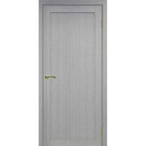 Межкомнатная дверь Optima Porte Турин 501.1 (дуб серый, глухая)