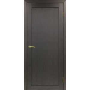 Межкомнатная дверь Optima Porte Турин 501.1 (венге, глухая)