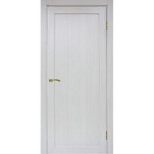 Межкомнатная дверь Optima Porte Турин 501.1 (ясень серебристый, глухая)