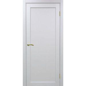 Межкомнатная дверь Optima Porte Турин 501.1 (белый монохром, глухая)