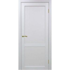 Межкомнатная дверь Optima Porte Турин 502.11 (белый монохром, глухая)