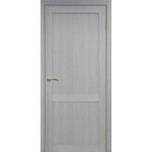 Межкомнатная дверь Optima Porte Турин 502.11 (дуб серый, глухая)