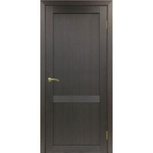 Межкомнатная дверь Optima Porte Турин 502.11 (венге, глухая)