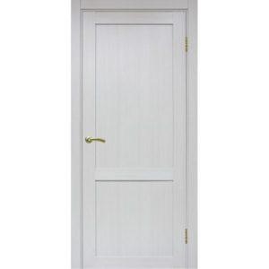 Межкомнатная дверь Optima Porte Турин 502.11 (ясень серебристый, глухая)