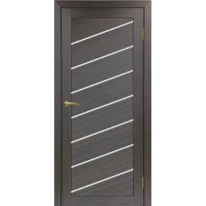 Межкомнатная дверь Optima Porte Турин 508U (венге, остеклённая)