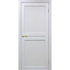 Межкомнатная дверь Optima Porte Турин 520.111 (белый монохром, глухая)