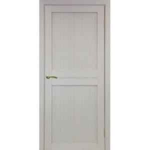 Межкомнатная дверь Optima Porte Турин 520.111 (дуб белёный, глухая)