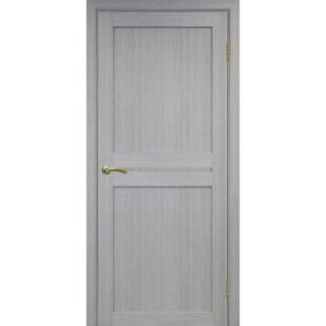 Межкомнатная дверь Optima Porte Турин 520.111 (дуб серый, глухая)