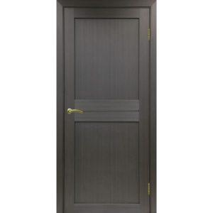 Межкомнатная дверь Optima Porte Турин 520.111 (венге, глухая)