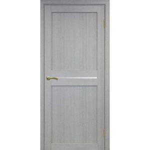 Межкомнатная дверь Optima Porte Турин 520.121 (дуб серый, остеклённая)