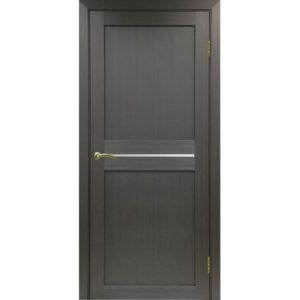Межкомнатная дверь Optima Porte Турин 520.121 (венге, остеклённая)