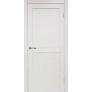 Межкомнатная дверь Optima Porte Турин 520.121 (ясень перламутровый, остеклённая)