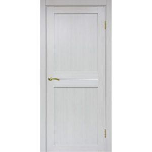 Межкомнатная дверь Optima Porte Турин 520.121 (ясень серебристый, остеклённая)