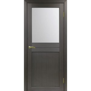 Межкомнатная дверь Optima Porte Турин 520.211 (венге, остеклённая)