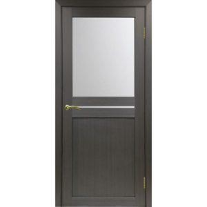 Межкомнатная дверь Optima Porte Турин 520.221 (венге, остеклённая)