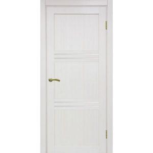 Межкомнатная дверь Optima Porte Турин 553 (ясень перламутровый, остеклённая)