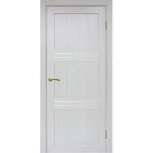 Межкомнатная дверь Optima Porte Турин 553 (ясень серебристый, остеклённая)