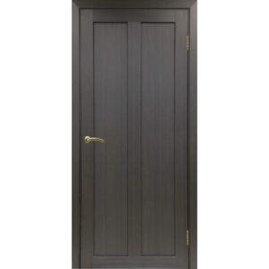 Межкомнатная дверь Optima Porte Турин 521.11 (венге, глухая)