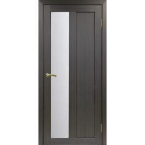 Межкомнатная дверь Optima Porte Турин 521.21 (венге, остеклённая)