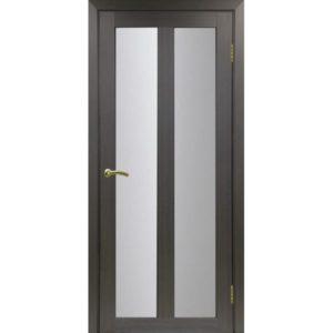 Межкомнатная дверь Optima Porte Турин 521.22 (венге, остеклённая)