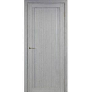 Межкомнатная дверь Optima Porte Турин 522.111 (АПП молдинг SC, дуб серый, глухая)