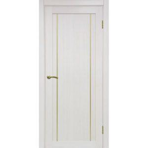 Межкомнатная дверь Optima Porte Турин 522.111 (АПП молдинг SG, ясень перламутровый, глухая)