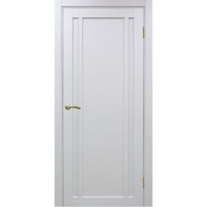 Межкомнатная дверь Optima Porte Турин 522.111 (белый монохром, глухая)