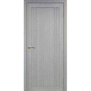 Межкомнатная дверь Optima Porte Турин 522.111 (дуб серый, глухая)